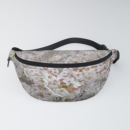 Cherry Blossoms from Above Fanny Pack