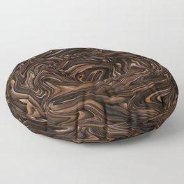 Chocolate Swirls Floor Pillow
