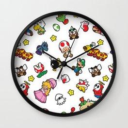 It's a really SUPER Mario pattern! Wall Clock