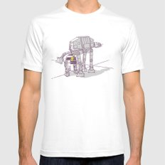 Not quite a fire hydrant Mens Fitted Tee White MEDIUM
