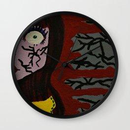 Broken Doll Wall Clock