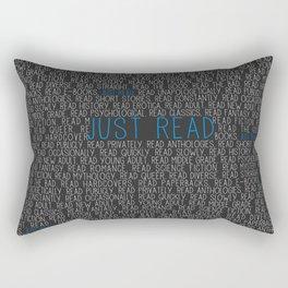 Just Read Rectangular Pillow