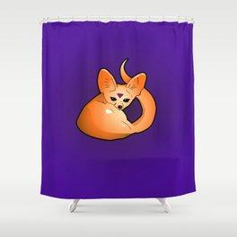 Fenech Fox Shower Curtain