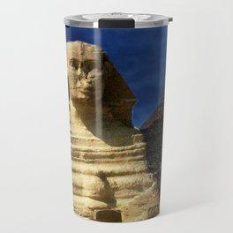 Sphinx  and Pyramid Travel Mug