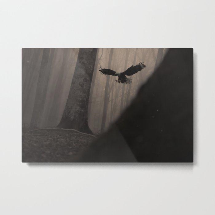 Magic Eagle Metal Print