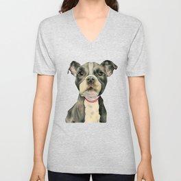 Puppy Eyes Unisex V-Neck