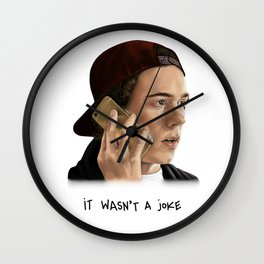It wasn't a joke - Skam Wall Clock