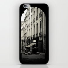 Parisian Doorway iPhone & iPod Skin