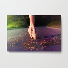 Ballet Steps II Metal Print
