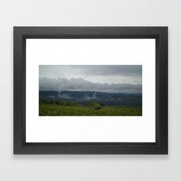 Harvest Weather Framed Art Print