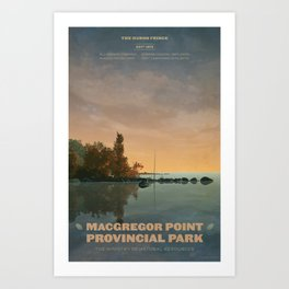 MacGregor Point Provincial Park Art Print
