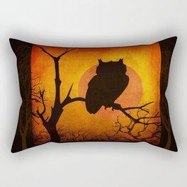 Halloween Is Coming Rectangular Pillow