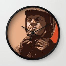 S McQueen Wall Clock