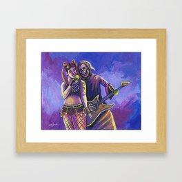 Death Duet 2 Framed Art Print