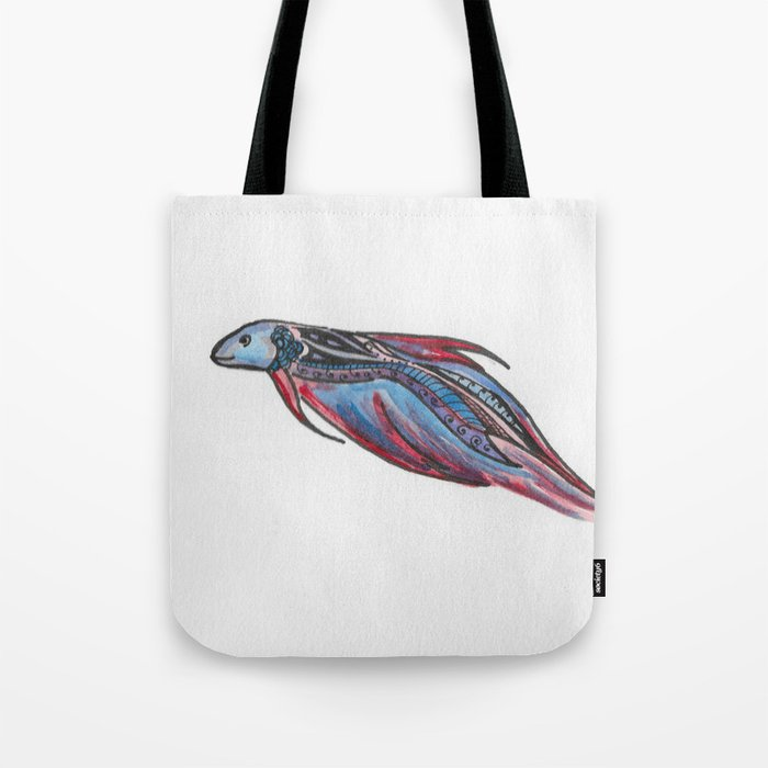 A Little Betta Tote Bag