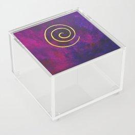 Deep Purple - Infinity Series With Gold Acrylic Box