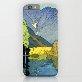 Yoshida Hiroshi - Japan Alps 12title, Hotaka Mountain - Digital Remastered Edition iPhone Case