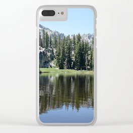 Squaw Valley Clear iPhone Case