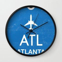 Hartsfield–Jackson Atlanta International Airport Wall Clock