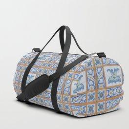 Vintage Art Nouveau Tiles Duffle Bag