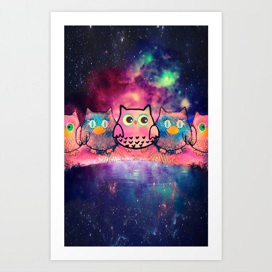owl-259 Art Print