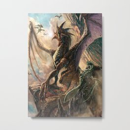The Strongest Metal Print