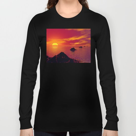 Volcanic Chain Long Sleeve T-shirt