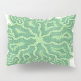 Emerald Flower Pillow Sham