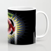 power ranger Mugs featuring It's Morphin' Time - Green Ranger by Joshua Epling