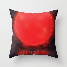 betelgeuse supernova space art Throw Pillow