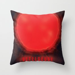 betelgeuse supernova space art Throw Pillow