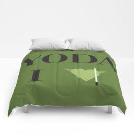 I heart Yoda Comforters