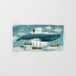Ocean Meets Sky - revised Hand & Bath Towel