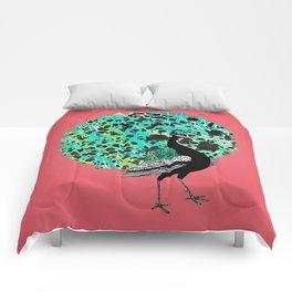 Neon Peacock Comforters