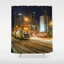 Gold Coast Light Rail Shower Curtain