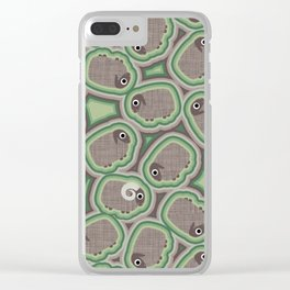 Combat Sheep Clear iPhone Case