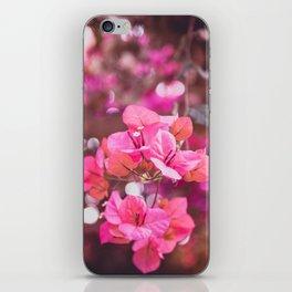 Fresh & Colourful Bougainvillea iPhone Skin