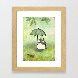 My friend from Japan Framed Art Print