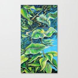 Julie's Jungle Canvas Print