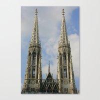 vienna Canvas Prints featuring Vienna by Kim Ramage