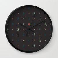 camping Wall Clocks featuring Camping... by NDTank