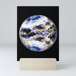Globe19/For a round heart Mini Art Print