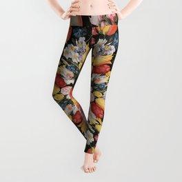 Flemish Floral Mandala 2 Leggings