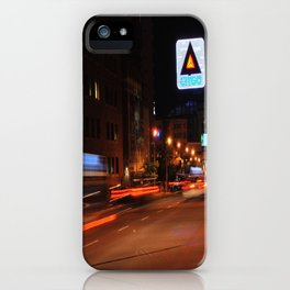 See It Go -- Boston Night.  Kenmore Square iPhone Case