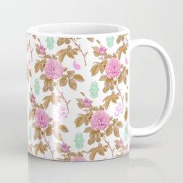 Floral Hamsa Coffee Mug