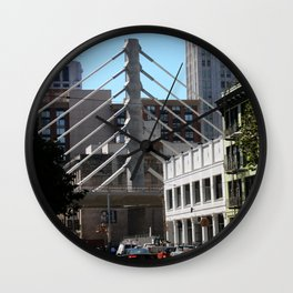 Keeps Me In Suspension Wall Clock