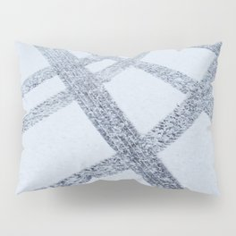 Tracks in the Snow Pillow Sham