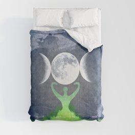 Mother Earth Goddess Moon Comforters