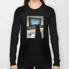 Watching TV Long Sleeve T-shirt