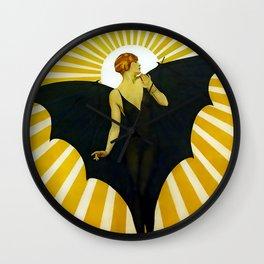 Coles Phillips Sunburst Magazine Cover Wall Clock